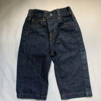 Calça Jeans - 6 a 9 meses - US Polo Assn