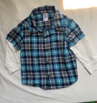 Camisa Importada Carter's - 1 ano - Carter`s