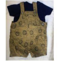 Jardineira + camiseta importados Carter's - 6 meses - Carter`s