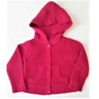 Cardigan de Tricot com Capuz Importada I DESAPEGO - 3 anos - The Children`s Place