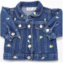 Jaqueta Jeans Flores Importada I DESAPEGO - 6 a 9 meses - Cradle Togs