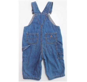 Jardineira Jeans Importada I DESAPEGO - 6 a 9 meses - Baby Gap