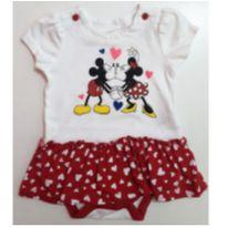 Body com Saia da Minnie I DESAPEGO - 6 a 9 meses - Disney