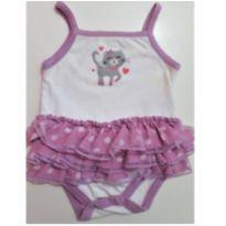 Body/Tutu Importado I DESAPEGO - 6 a 9 meses - Small Wonders (USA)