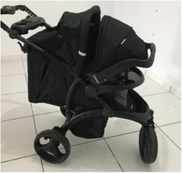 Carrinho Infanti + Bebê Conforto - Sem faixa etaria - Infanti