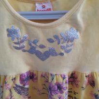 Vestido de passarinhos - 1 ano - Brandili