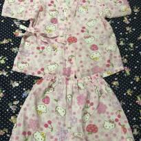 Conjunto 2 peças kimono HELLO KITTY - 2 anos - Hello  Kitty