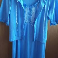 Camisola para maternidade com casaquinho - M - 40 - 42 - Não informada