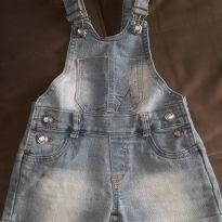 Jardineira jeans - 4 anos - Bicho Solto