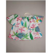 Bata blusa ciganinha colorida - 6 anos - Zara