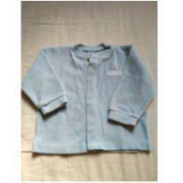 Casaquinho soft azul M - 3 a 6 meses - VICKY LIPE