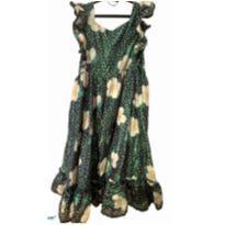 Vestido floral - 10 anos - Fábula