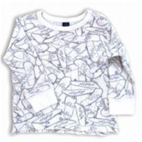 Skate Shirt - 12 a 18 meses - Baby Gap
