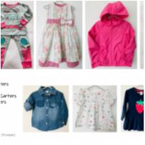 Lote 11 peças tam 18m - 18 meses - Carter`s e Zara Baby