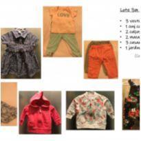 Lote 12 peças Carter`s - tam 3m - 0 a 3 meses - Carter`s e Child of Mine