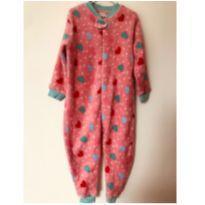 Pijama fleece Póim - tam 2 - 2 anos - Póim