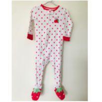 Pijama moranguinho Carter`s - 12m - 1 ano - Carter`s