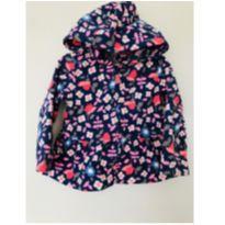 Casaco fleece florido Carter`s - tam 18m - 12 a 18 meses - Carter`s