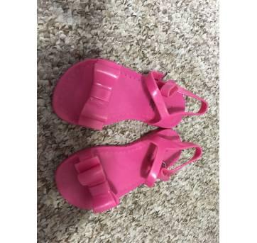 Sandália de silicone pink - 24 - GAP