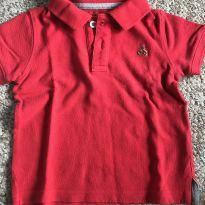 Camisa polo GAP vermelha - 12 a 18 meses - Baby Gap