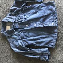 Camisa ML jeans - 18 meses - Carinhoso