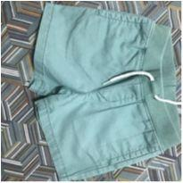 Shorts em sarja verde claro - 12 a 18 meses - GAP