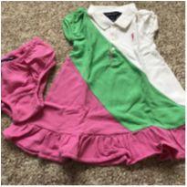 Vestido em piquê, Ralph Lauren - 18 meses - Ralph Lauren