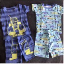 Kit com 2 pijamas super fofos! - 2 anos - Carter`s