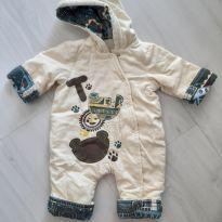 Macacão Tigor - Tam. P - 3 meses - Tigor Baby