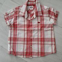 Camisa Xadrez Zara. Tam. 6/9 meses - 6 a 9 meses - Zara
