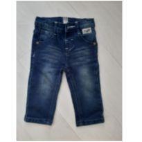 Calça Jeans Tigor. Tam. G - 9 a 12 meses - Tigor Baby