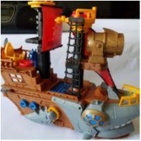 Barco navio tubarão pirata Imaginext -  - Mattel e Imaginext