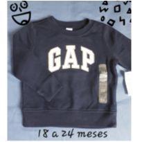 Moletom Gap novo! - 18 a 24 meses - Baby Gap