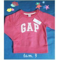 Moletom Original Novo - 3 anos - Baby Gap
