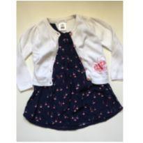 Vestido Hering com casaquinho - 3 anos - Hering Kids e Wonder Kids - USA
