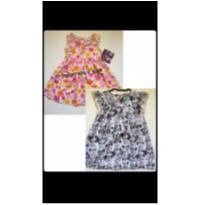 Novo: kit 2 lindos vestidos florais - 2 anos - Poim e Blueberi Boulevard - USA