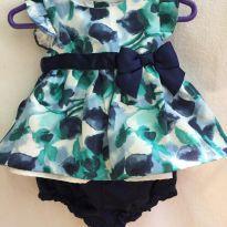 Lindo vestido floral Gymboree - 3 a 6 meses - Gymboree