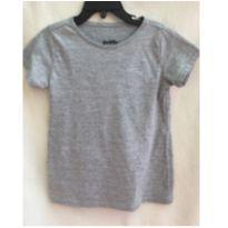 Blusinha básica Yeapp cinza - 6 anos - Yeapp