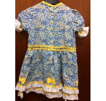 Vestido Caipira - Festa Junina - 7 anos - Não informada