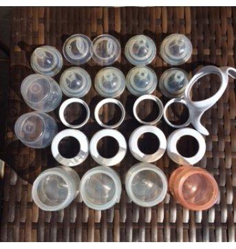 Conjunto Avent mamadeiras, bicos e outros - Sem faixa etaria - Avent Philips