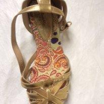 Sapato Lilica Dourado Tam. 31 - 31 - Lilica Ripilica
