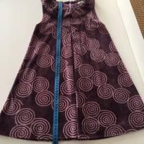 Vestido de veludo Milon - 6 anos - Milon