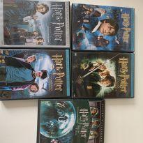 DVD Harry Potter 1-2-3-4-5 -  - Não informada