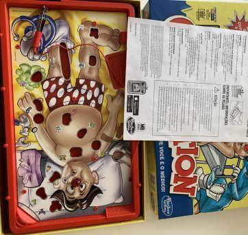 Jogo Operation - Sem faixa etaria - Hasbro