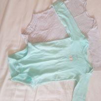 Kit de 2 bodys Carter`s manga comprida - 24 a 36 meses - Carter`s