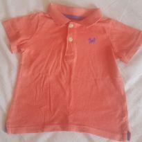 Camisa Polo Carter`s - 24 a 36 meses - Carter`s