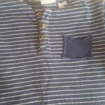 Camiseta manga longa com bolso Zara Baby - 18 a 24 meses - Zara Baby