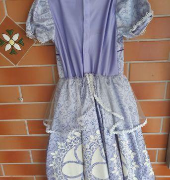 Vestido de Festa Luxo da Princesa Sofia Disney - 4 anos - Disney