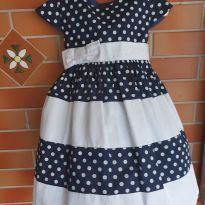 Vestido de Festa de Poá - 3 anos - Não informada