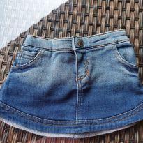 Saia Jeans de Moletom Vrasalon - 4 anos - Vrasalon